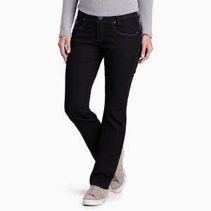 Kühl Danzr Midnight Straight Leg Jeans sz12 SHORT